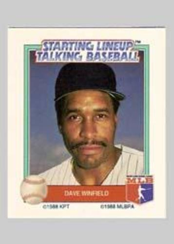 Photo of 1988 Starting Lineup All-Stars #36 Dave Winfield