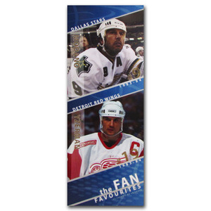 Mike Modano & Steve Yzerman Fan Favourites Oversized Lightbox Once on Display at the Hockey Hall of Fame (Dallas Stars, Detroit Red Wings)