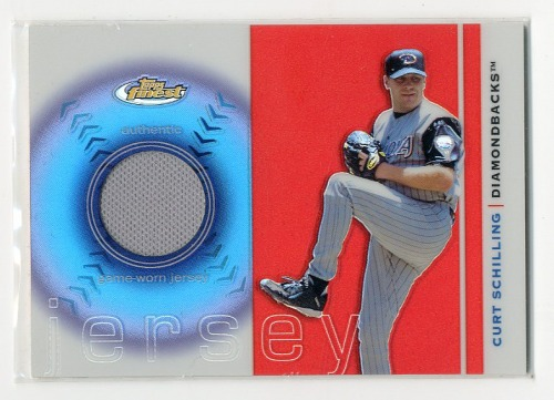 Photo of 2003 Finest Uniform Relics #CS Curt Schilling B