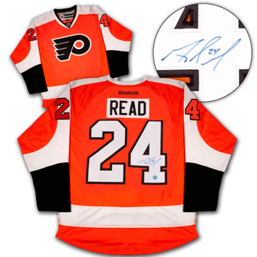 Matt Read Philadelphia Flyers Autographed Reebok Premier Hockey Jersey