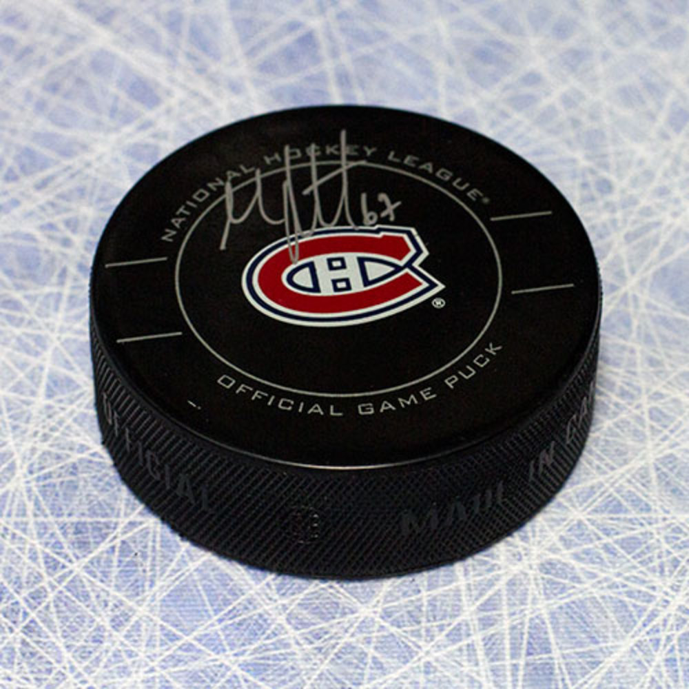 Max Pacioretty Montreal Canadiens Autographed Official Game Hockey Puck