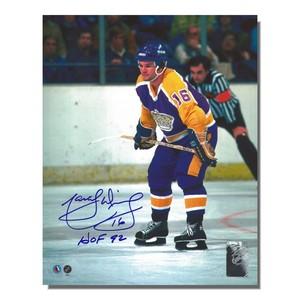 Marcel Dionne Autographed Los Angeles Kings 8x10 Photo