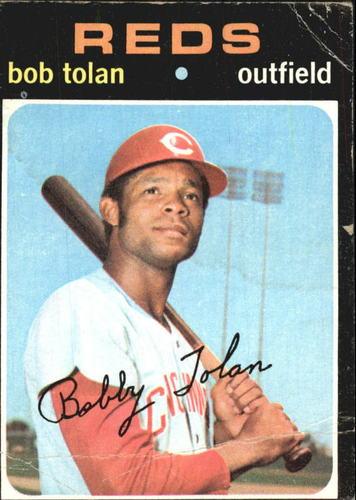 Photo of 1971 Topps #190 Bob Tolan