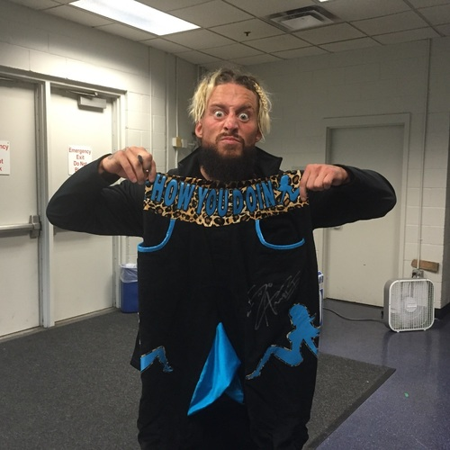 Photo of Enzo Amore Worn & SIGNED Pants (RAW - 08/01/16)