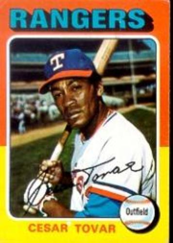 Photo of 1975 Topps #178 Cesar Tovar