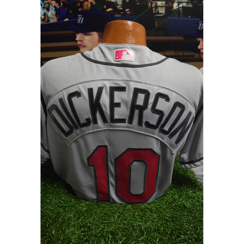 Photo of Game-Used Mother's Day Jersey: Corey Dickerson