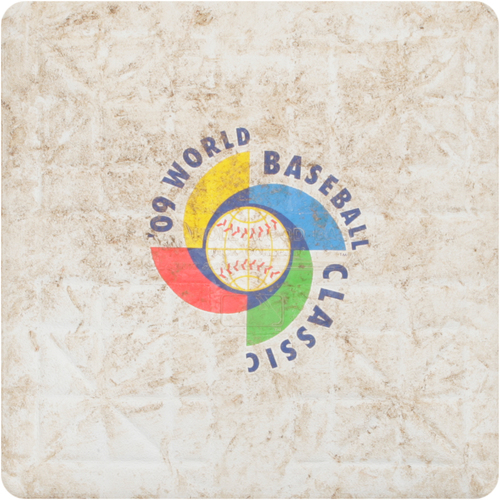 Photo of 2009 WBC: Round 2 - Netherlands vs. United States Game-Used 3rd Base