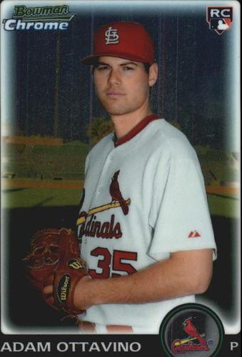 Photo of 2010 Bowman Chrome Draft #BDP26 Adam Ottavino Rookie Card -- Rockies post-season