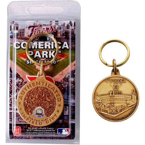 Photo of Detroit Tigers Comerica Park Dirt Keychain