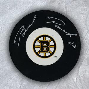 Brad Park Boston Bruins Autographed Hockey Puck