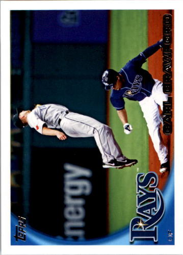 Photo of 2010 Topps #95A Carl Crawford