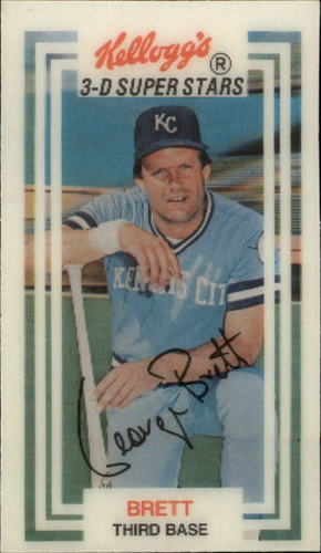 Photo of 1983 Kellogg's #4 George Brett