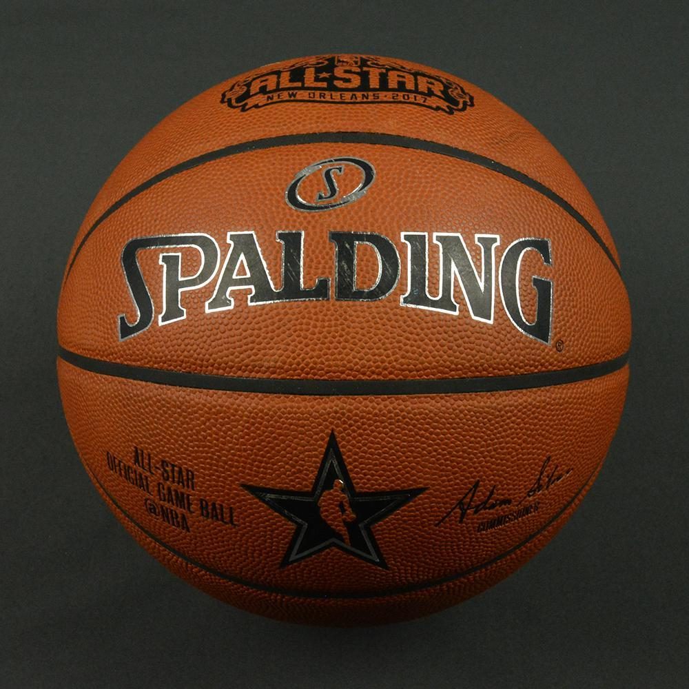 NBA All-Star Game 2017 - Game-Used Basketball (4th Quarter)