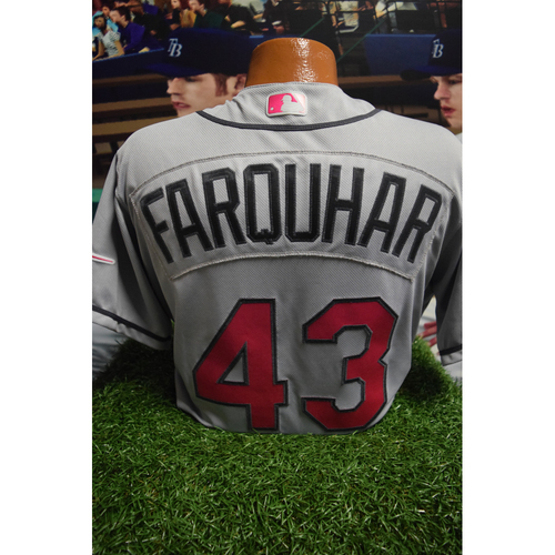 Photo of Game-Used Mother's Day Jersey: Danny Farquhar