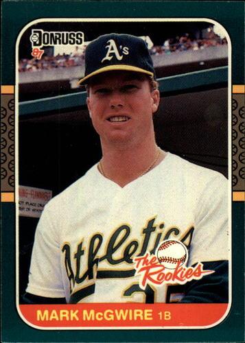 Photo of 1987 Donruss Rookies #1 Mark McGwire