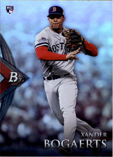 Photo of 2014 Bowman Platinum #75 Xander Bogaerts Rookie card
