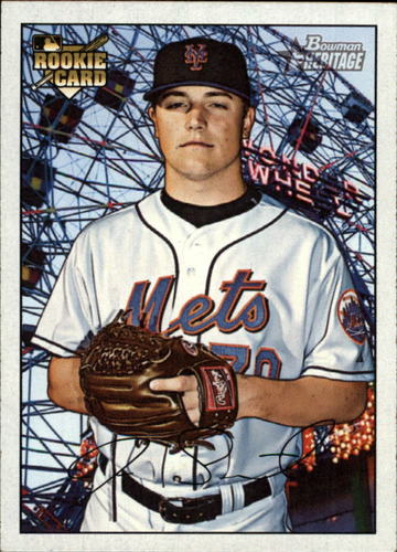 Photo of 2007 Bowman Heritage #210 Joe Smith Rookie Card -- Indians post-season