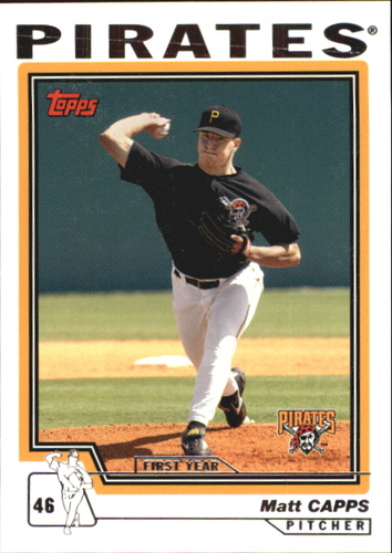 Photo of 2004 Topps Traded #T173 Matt Capps FY RC