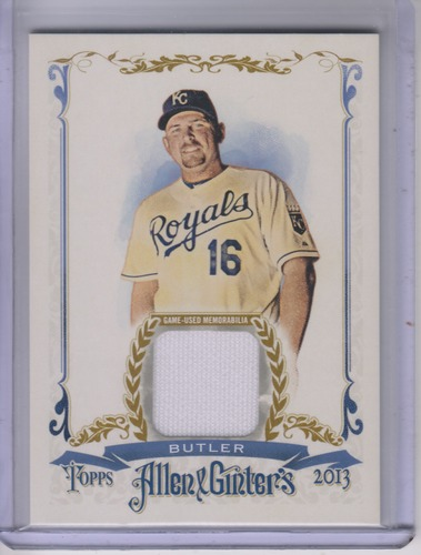 Photo of 2013 Topps Allen and Ginter Relics #BBT Billy Butler