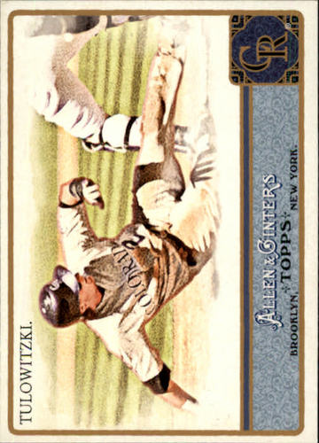 Photo of 2011 Topps Allen and Ginter #150 Troy Tulowitzki