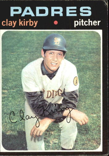 Photo of 1971 Topps #333 Clay Kirby