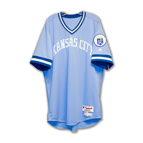 Photo of Cody Clark Game-Used Retro 1976 Jersey (6/4/16) (Size 48)
