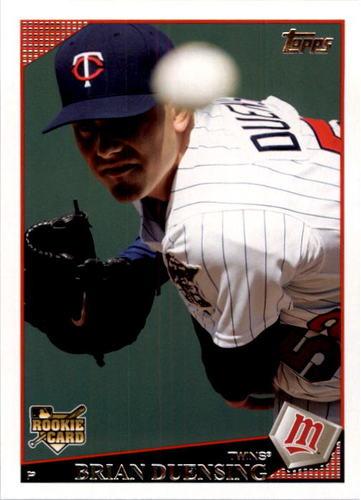 Photo of 2009 Topps #427 Brian Duensing Rookie Card Cubs post-season
