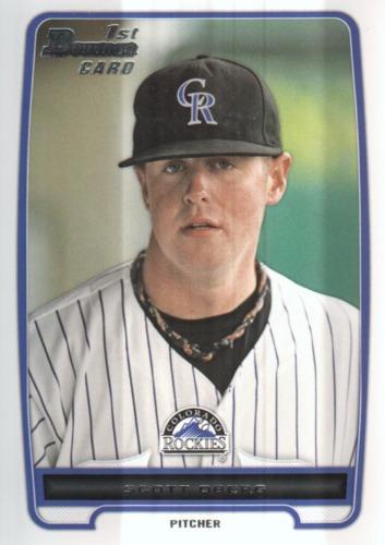Photo of 2012 Bowman Draft Draft Picks #BDPP113 Scott Oberg -- Rockies post-season
