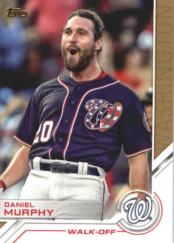 Photo of 2017 Topps Update Salute #USS40 Daniel Murphy