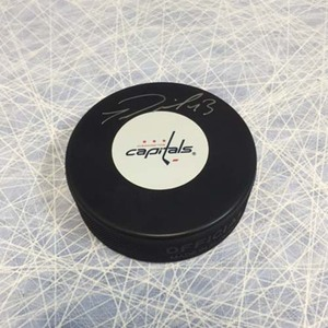 Tom Wilson Washington Capitals Autographed Hockey Puck