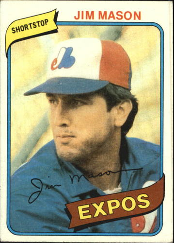 Photo of 1980 Topps #497 Jim Mason
