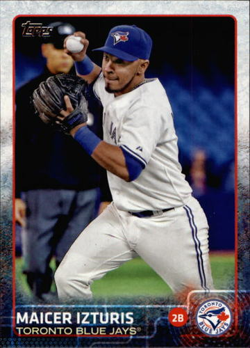Photo of 2015 Topps #443 Maicer Izturis