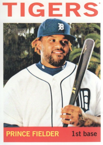 Photo of 2013 Topps Heritage #250A Prince Fielder