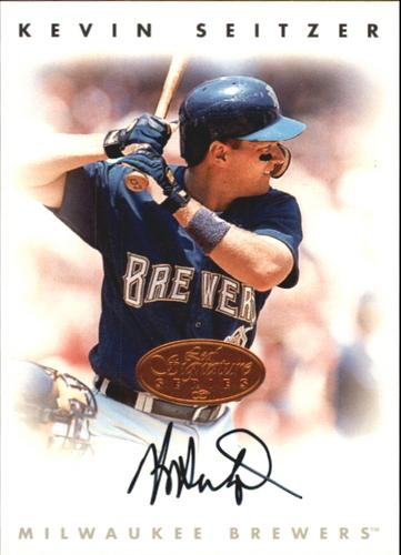 Photo of 1996 Leaf Signature Autographs #208 Kevin Seitzer