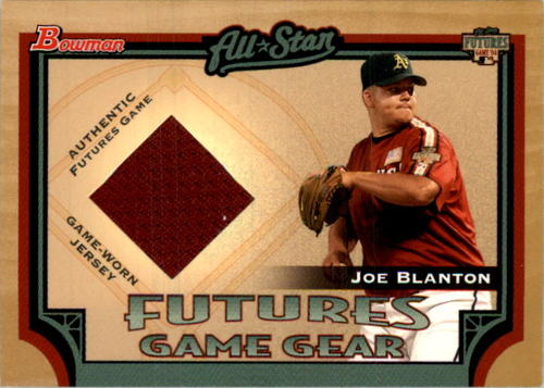 Photo of 2005 Bowman Futures Game Gear Jersey Relics #JB Joe Blanton