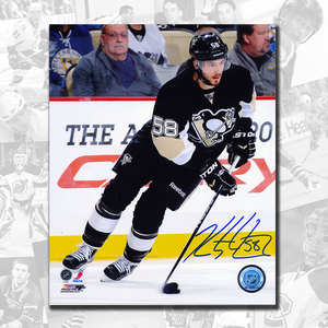 Kris Letang Pittsburgh Penguins Autographed 8x10