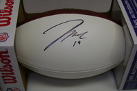 CHIEFS - JEREMY MACLIN SIGNED PANEL BALL