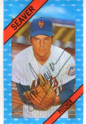 Photo of 1972 Kellogg's #1A Tom Seaver ERR 1970 ERA 2.85