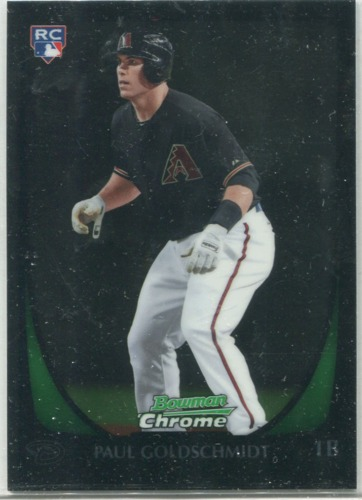 Photo of 2011 Bowman Chrome Draft #108 Paul Goldschmidt RC