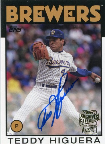 Photo of 2016 Topps Archives Fan Favorites Autographs  Teddy Higuera