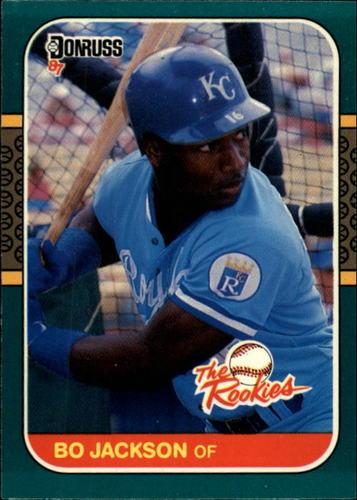 Photo of 1987 Donruss Rookies #14 Bo Jackson