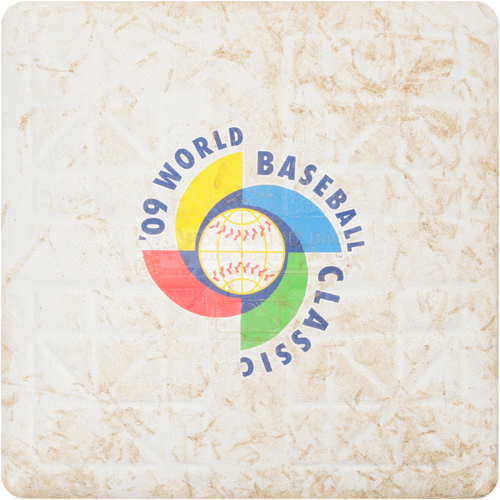 2009 WBC: Round 2 - Japan vs. Cuba Game-Used 3rd Base