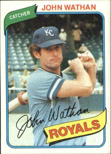 Photo of 1980 Topps #547 John Wathan
