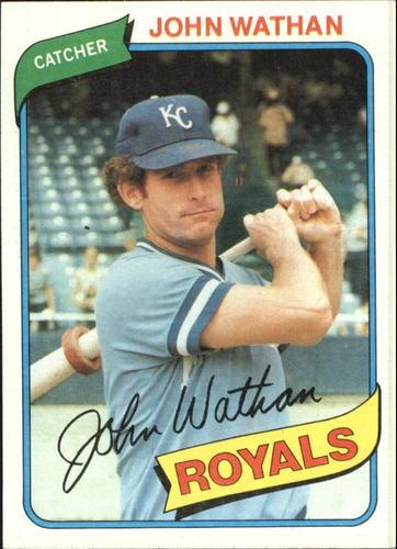Photo of 1980 Topps #547 John Wathan