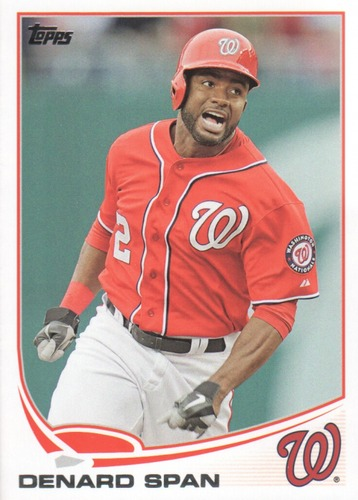 Photo of 2013 Topps Update #US38 Denard Span
