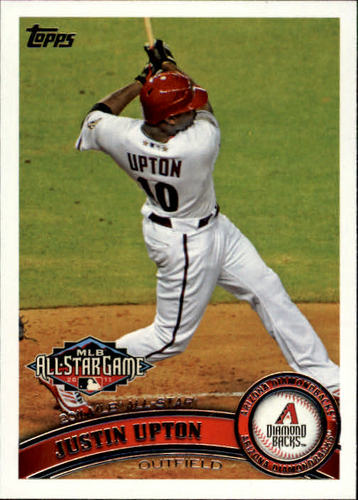 Photo of 2011 Topps Update #US316 Justin Upton