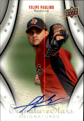 Photo of 2009 Upper Deck Signature Stars #162 Felipe Paulino AU