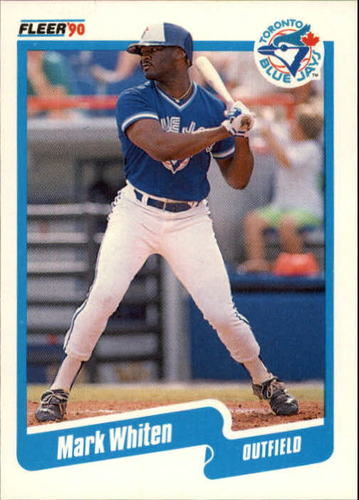 Photo of 1990 Fleer Update #130 Mark Whiten RC