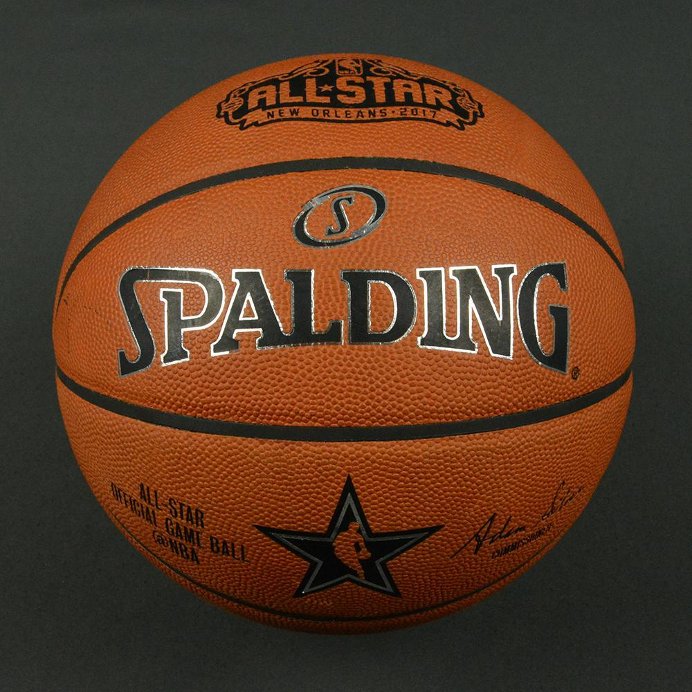 NBA All-Star 2017 - BBVA Compass Rising Stars - Game-Used Basketball (2nd Half )