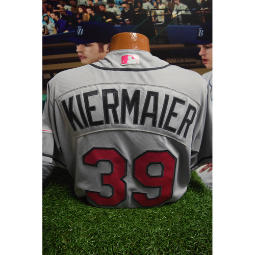 Photo of Game-Used Mother's Day Jersey: Kevin Kiermaier